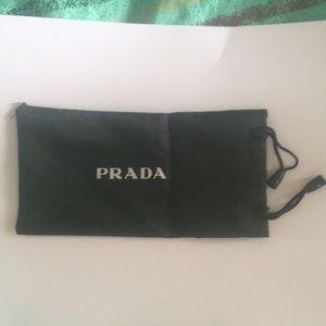 Prada sunglass pouch